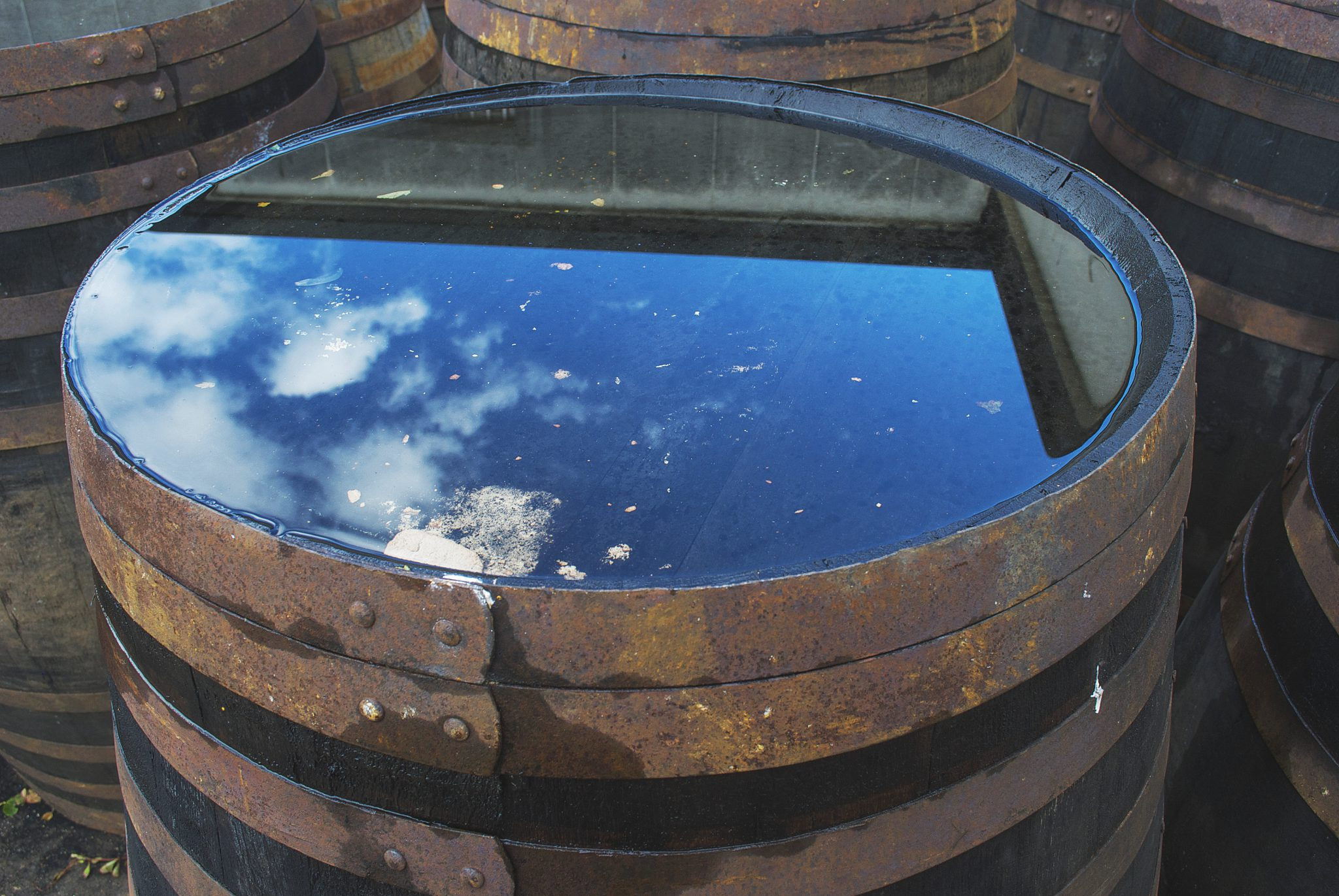 Van Weringh's Whisky World - Whisky vat