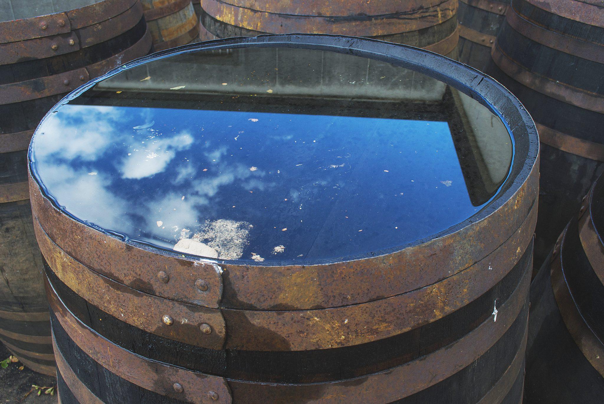 Van Weringh's Whisky World - Whisky vat